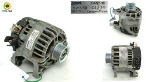 ALTERNATORE DENSO DAN505 1022118061 C9DB FORD FOCUS 1.8TDCI 2000 26C