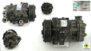 COMPRESSORE CLIMA SD6V12 1921F 51803075 199A2000 FIAT PUNTO EVO 1.3MJT 2010 87C