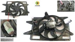 ELETTROVENTOLA RADIATORE 832700200 FIAT DOBLO 1.9JTD 2001 33D