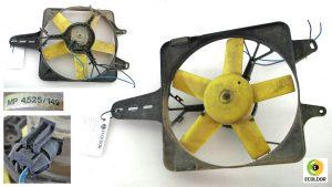 ELETTROVENTOLA RADIATORE MP 4525 149 FIAT UNO 999B 1990 33D