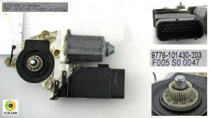 MOTORINO ALZAVETRO ANTERIORE SX 9776101430203 VOLKSWAGEN GOLF 4 1.9TDI 2000 54C