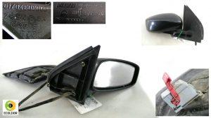 SPECCHIETTO DESTRO ELETTRICO 0170468000 FIAT STILO 1.9JTD 2004 82B